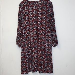 LOFT Long Sleeve Dress Size LT